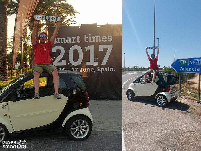 EXPLORER at Smart Times 2017 at Salou