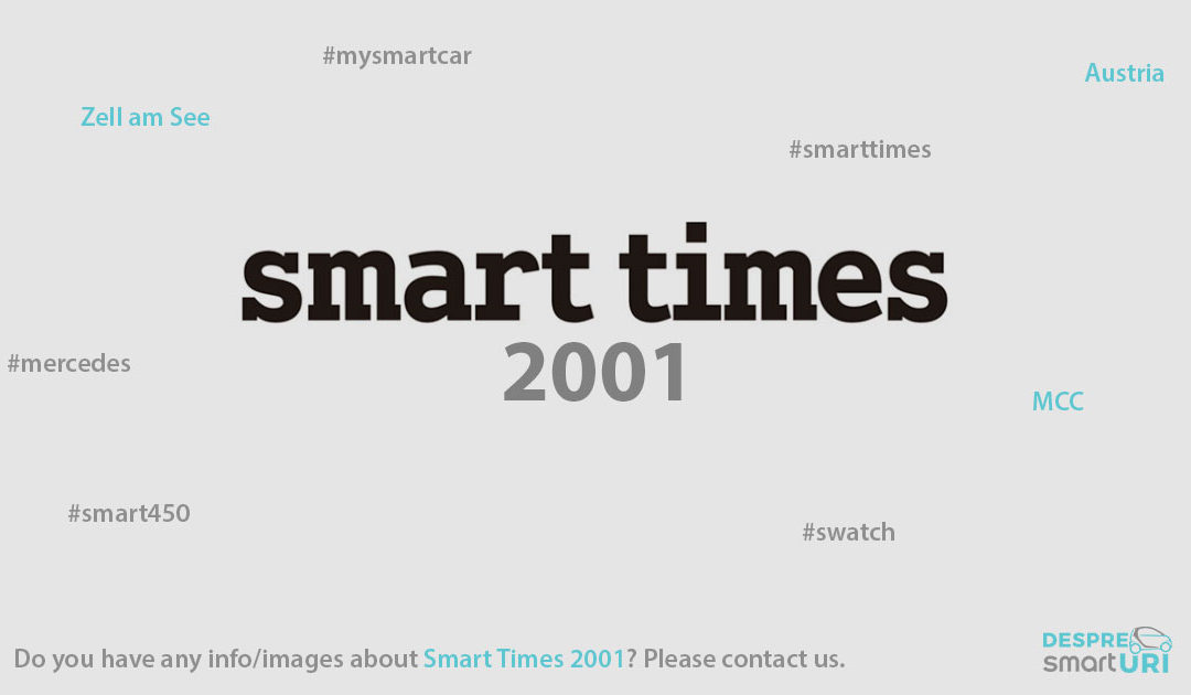 Smart Times 2001 | The First Smart Times